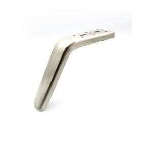 Noga - SL 013 - wysokość: 150 mm, inox/chrom/czarny