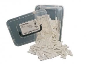 Box150 - kliny dachowe białe