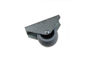 Rolka Φ 38x46mm gumowana, montaż górny