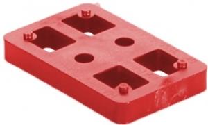 Kostka murarska czerwona 10 mm