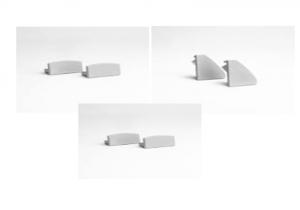 Zaślepki do profili aluminiowych