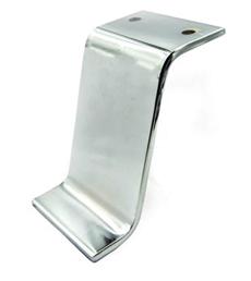 Noga z drążka - SL 016 - wysokość: 120 mm, chrom