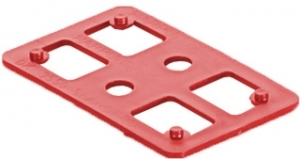 Kostka murarska czerwona 2 mm