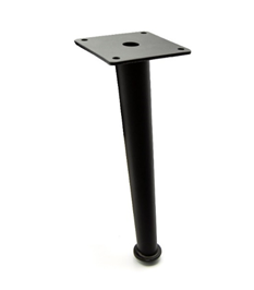 Noga - SL 021 - wysokość: 150/200 mm, czarny