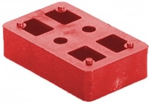 Kostka murarska czerwona 20 mm
