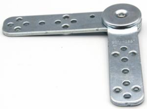 Mechanizm zapadkowy podłokietnika sofy wykonany ze stali nierdzewnej