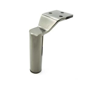 Noga - SL 011 - wysokość: 125 mm, inox/chrom/czarny