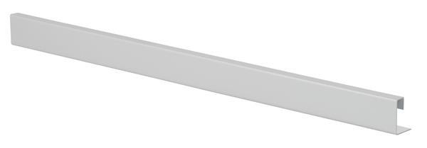 Uchwyt do drzwi przesuwnych, kwadratowy, H=28mm