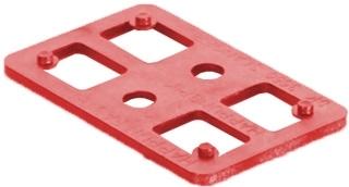 Kostka murarska czerwona 3 mm
